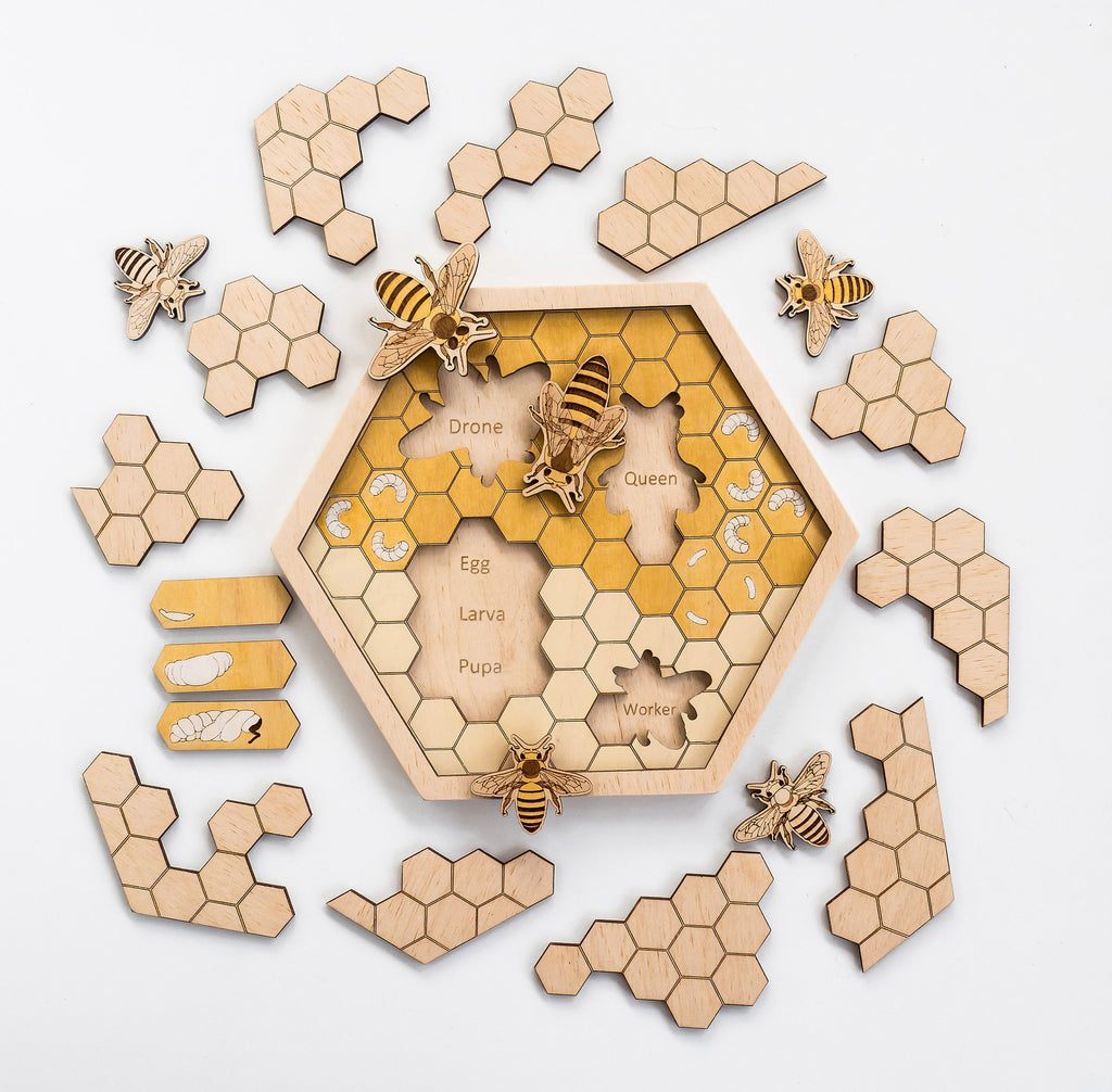 Bee Hive Puzzle - Toydler
