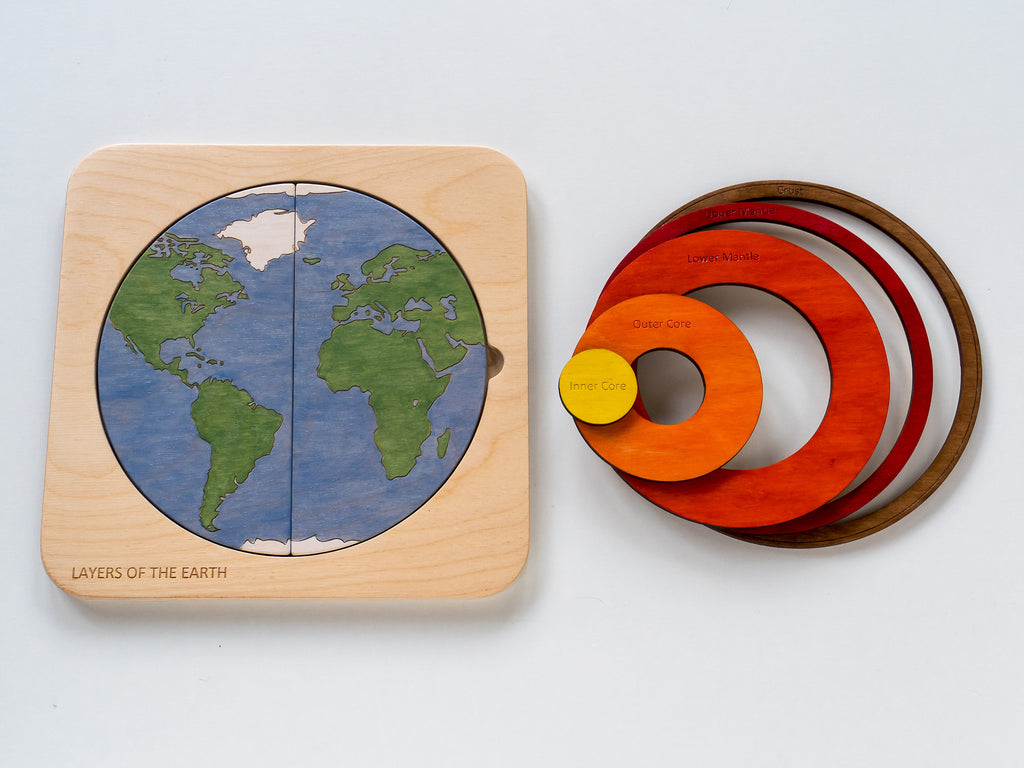 Earth Puzzle - Toydler