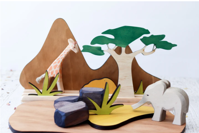 StoryScene - African Savannah Set - Toydler