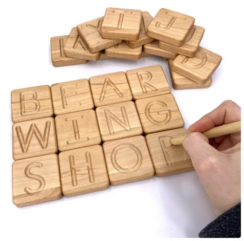 [ETA Nov] Small Print Alphabet Tracing Cards With Box - Toydler