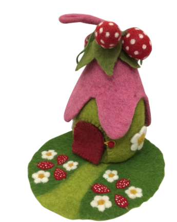 Strawberry House and Mat - Toydler