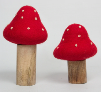 Toadstool (set of 2) - Toydler