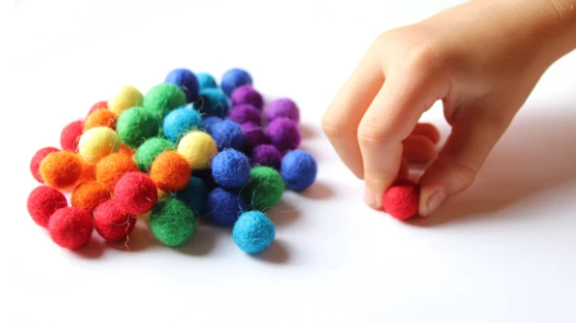 Ball Wool Balls for Hundred Frame - Toydler