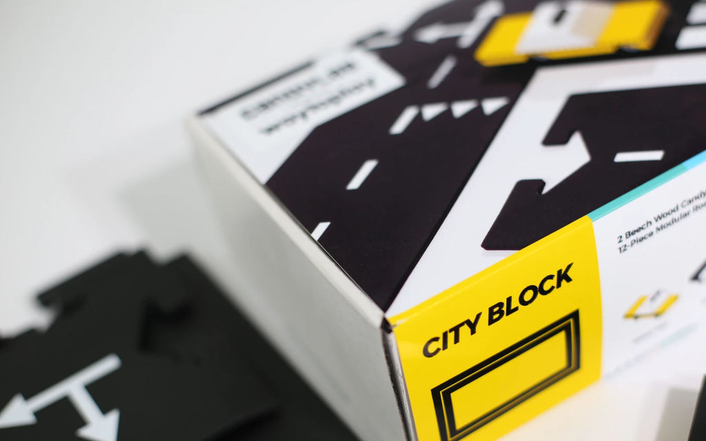 Waytoplay X Candylab CITY BLOCK - Toydler