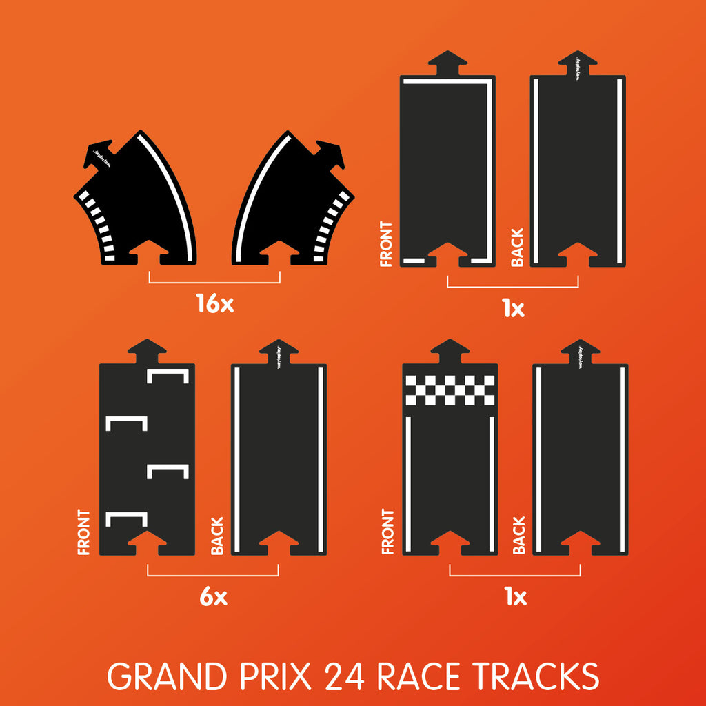 Grand Prix (24 Race Tracks) - Toydler