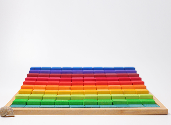 Large Stepped Counting Blocks - Toydler