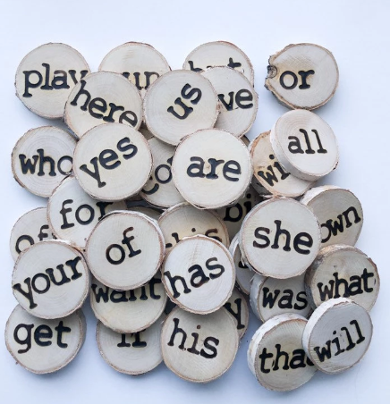 Wooden Sight Words Set 2 - Toydler