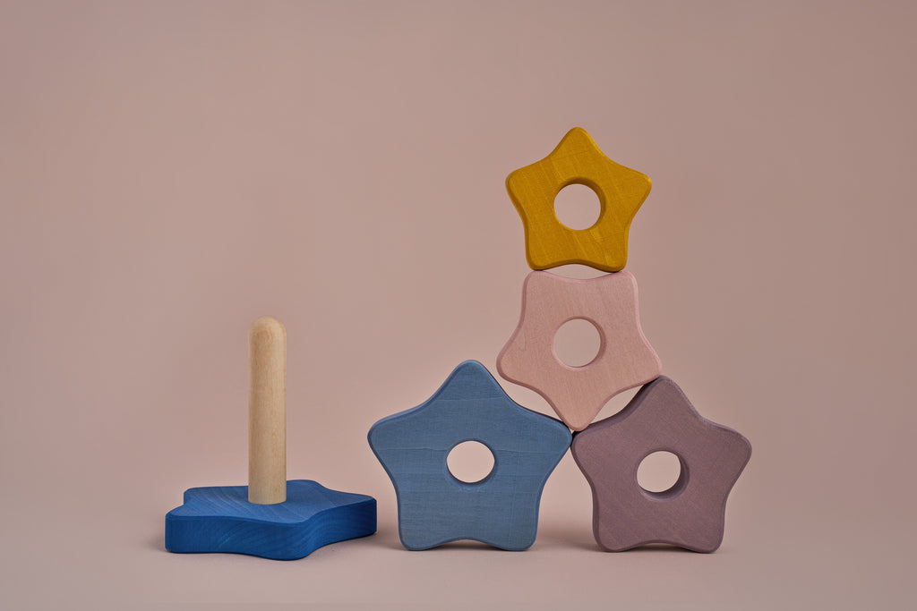 Star Stacking Tower - Toydler