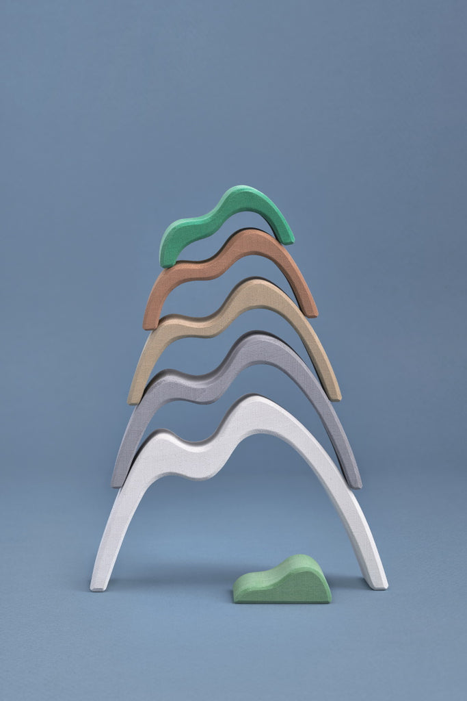 Mountains Small Arch Stacker - Toydler