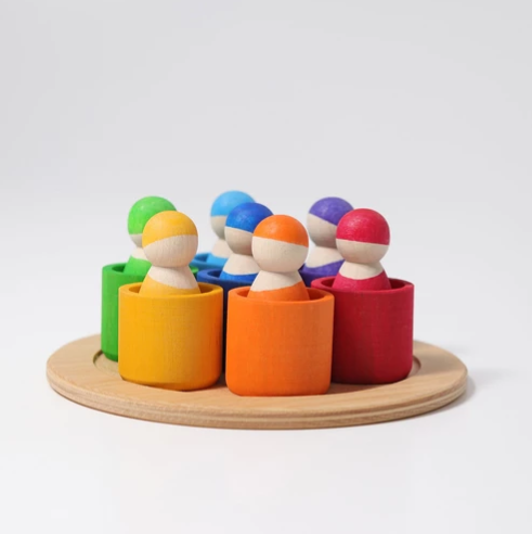 Rainbow Friends in 7 Bowls - Toydler