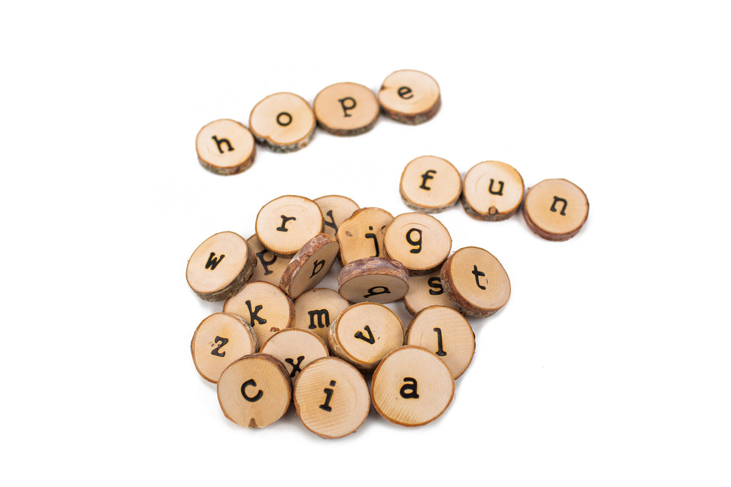 Natural Alphabet - Lowercase - Toydler