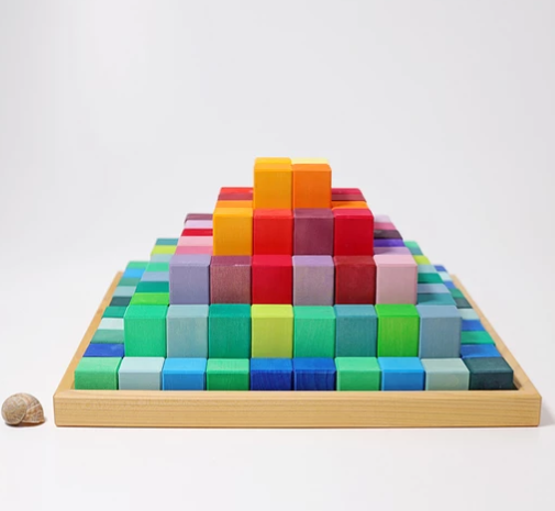 *REDUCE TO CLEAR* Large Stepped Pyramid - Toydler