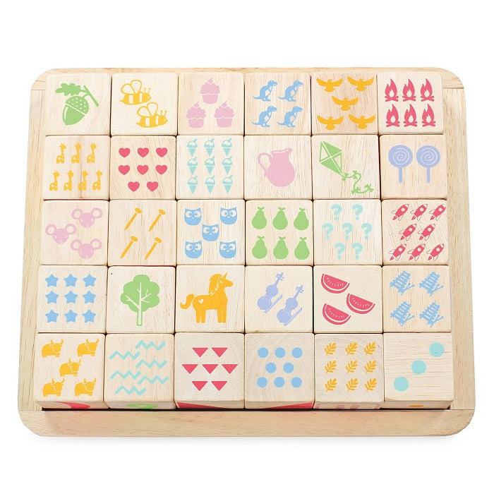 ABC Wooden Blocks - Toydler