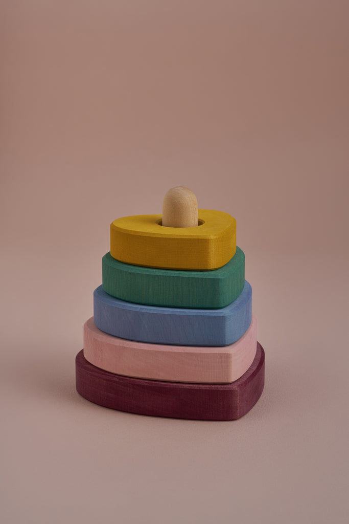 Heart Stacking Tower - Toydler