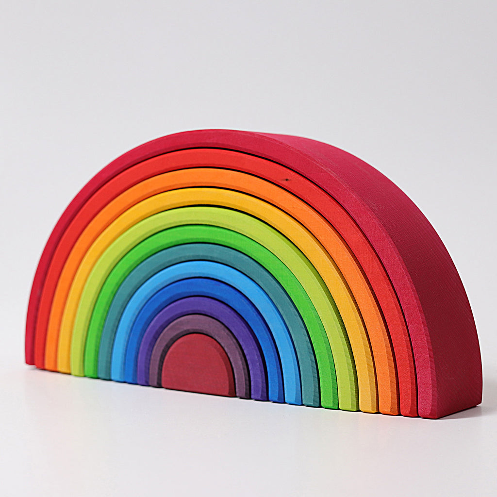 Grimm's Large Rainbow 12 pieces - Toydler