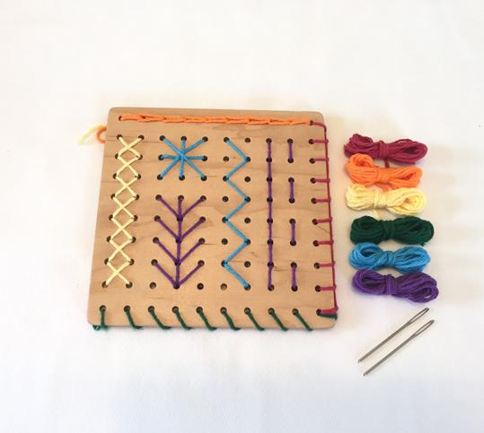 Sewing Board - Toydler