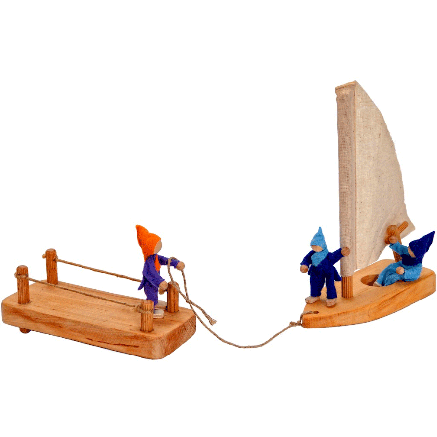 [ETA MID NOV] Magic Wood Boat & Dock - Toydler