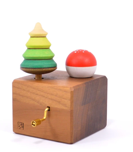 Music Box with Tree Top & Toadstool - Toydler