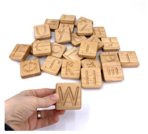 Small Print Alphabet Tracing Cards With Box - Toydler