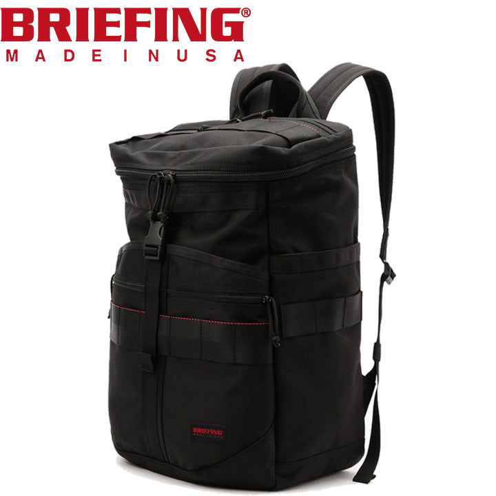 【MADE IN USA】 ブリーフィング BRIEFING Cloud Monolith Pack バックパック Black