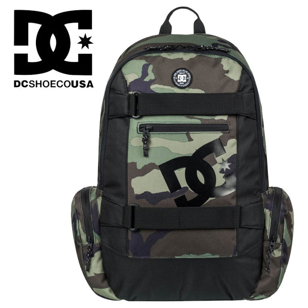DC SHOES バックパックTHE BREED カモ柄 26L Backpack EDYBP03135 リュック  かばん スケートパック スケボー バックパック