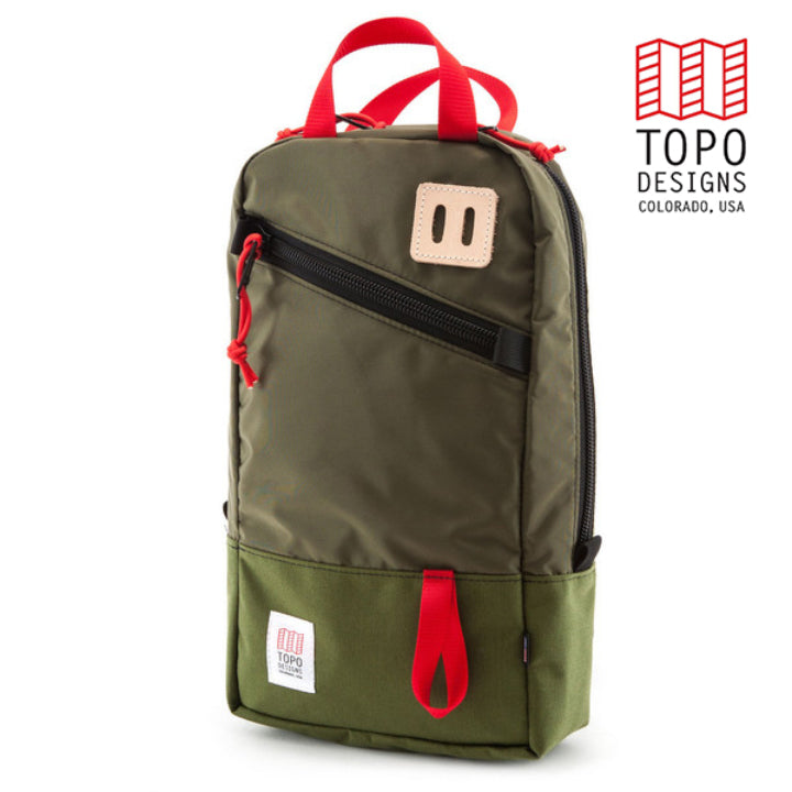 TOPO DESIGNS トポデザインTrip Pack Olive Backpack バックパック アウトドア カジュアル リュック