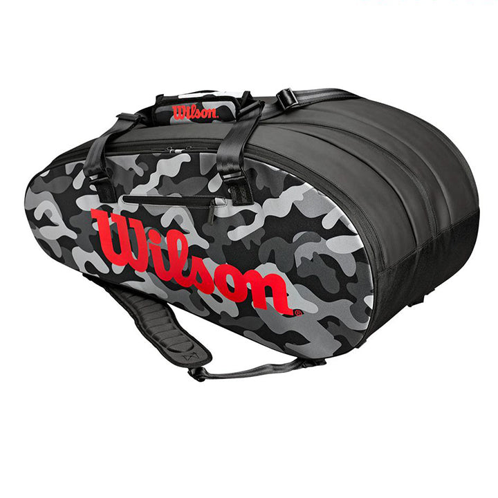 SUPER TOUR 3 COMPARTMENT CAMO TENNIS BAG ラケットホルダー / ラケットバック / テニスバッグ