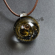 Saturn-Galaxy-Marble-Pendant-NeckGalace