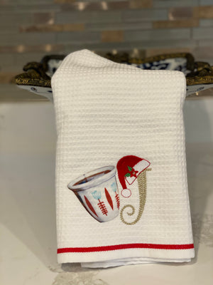 Christmas towels cotton towel