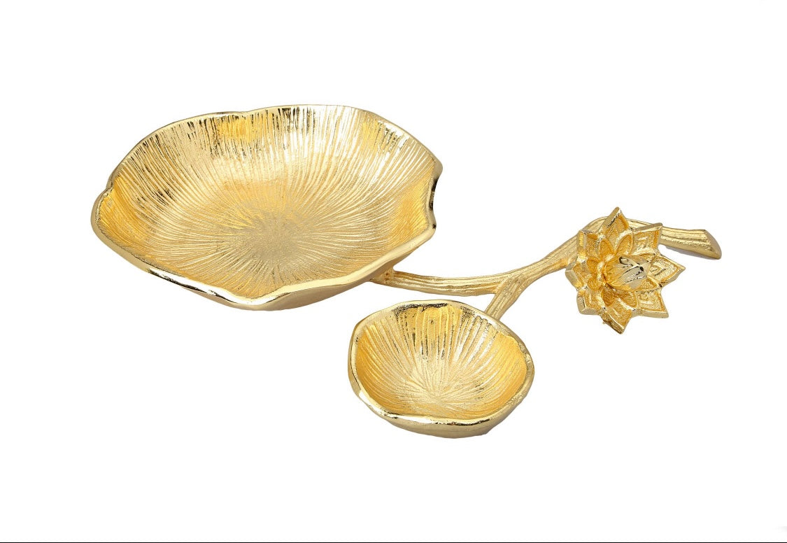 Gold Chip and Dip bowl