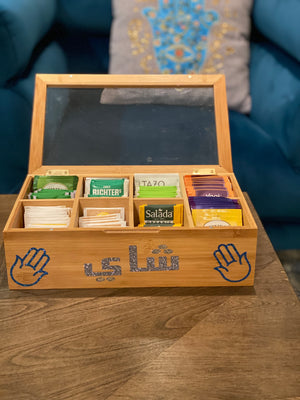 Natural Wood tea box