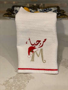 Christmas towel cotton towels