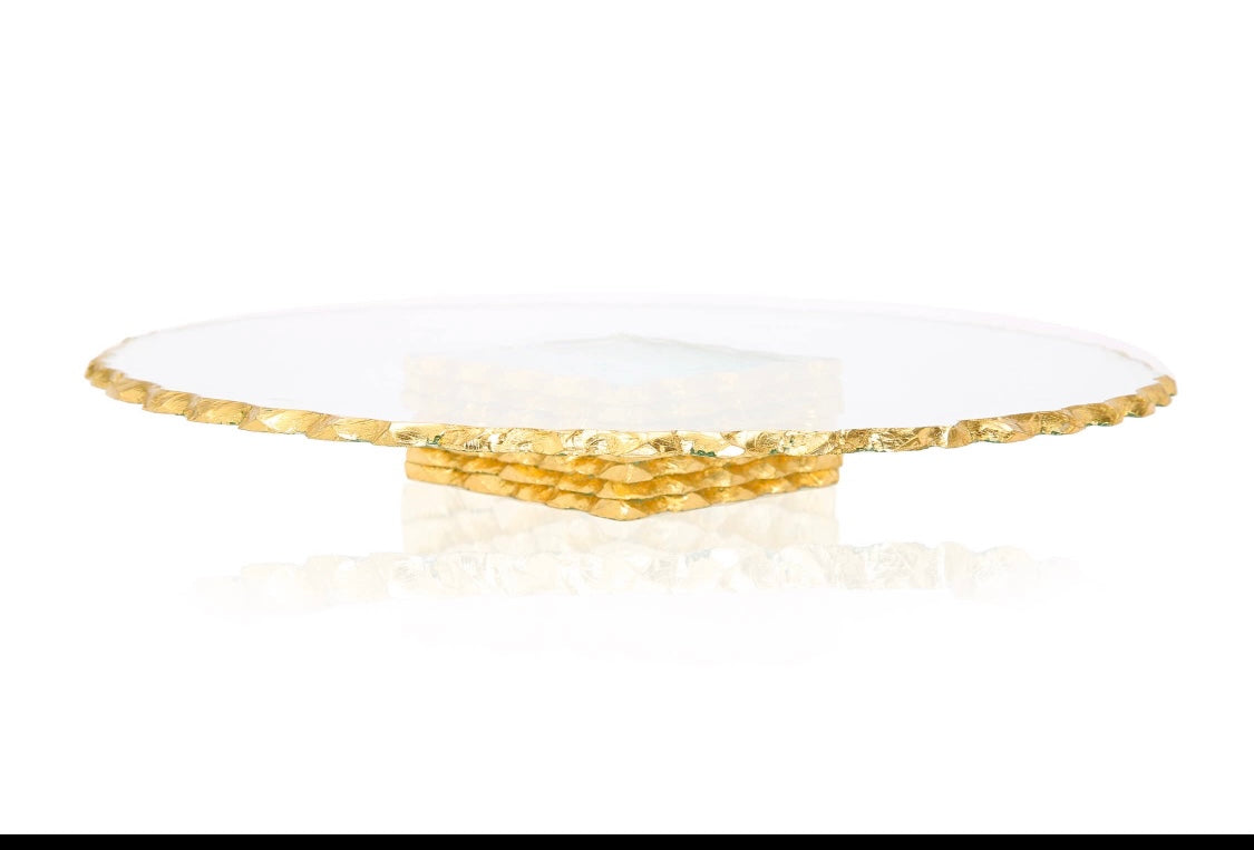 Stacked glass Cake Stand