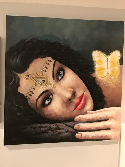 Arabian beauty wall Art