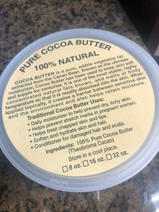 Cocoa Butter Waffers