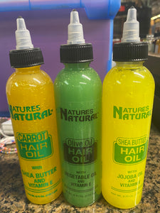 Natures Natural Hair Oil