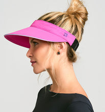 Load image into Gallery viewer, Athleta Fpu50+ Visor Shock Pink Uv