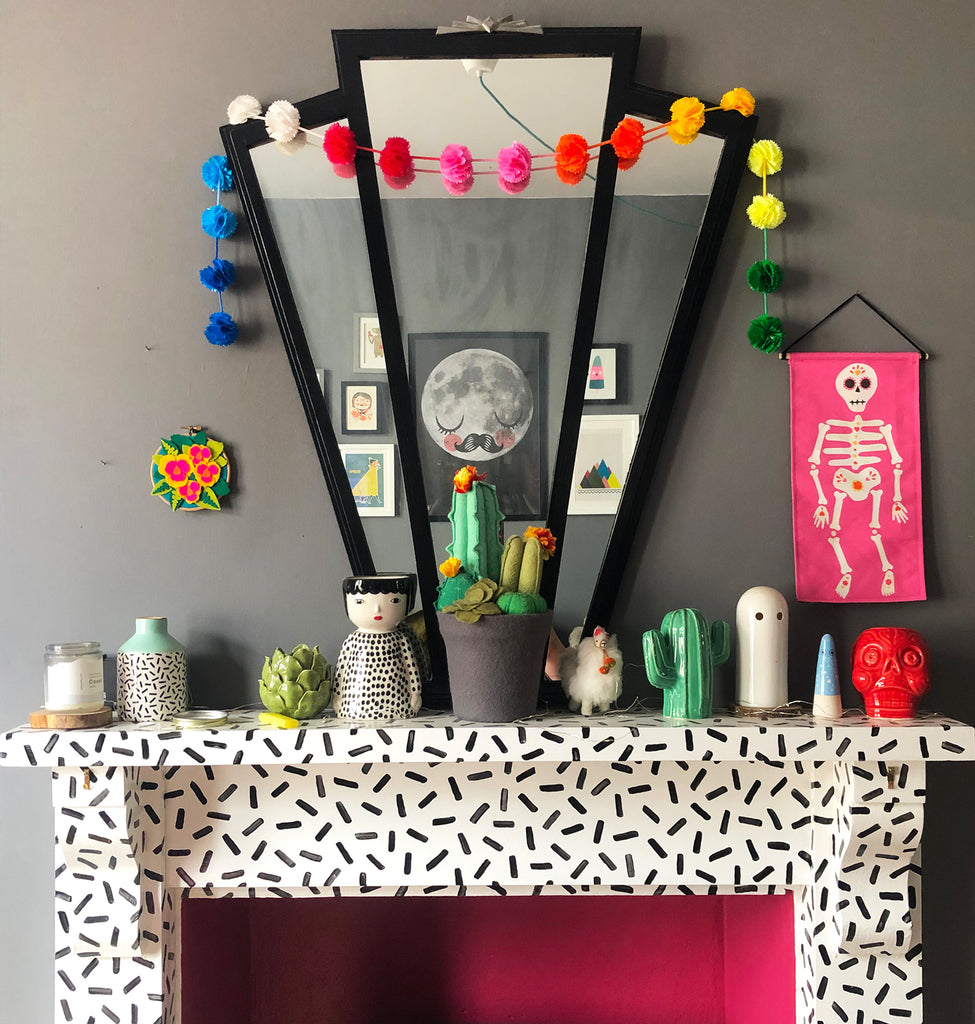 Day Of The Dead Living Room Inspiration