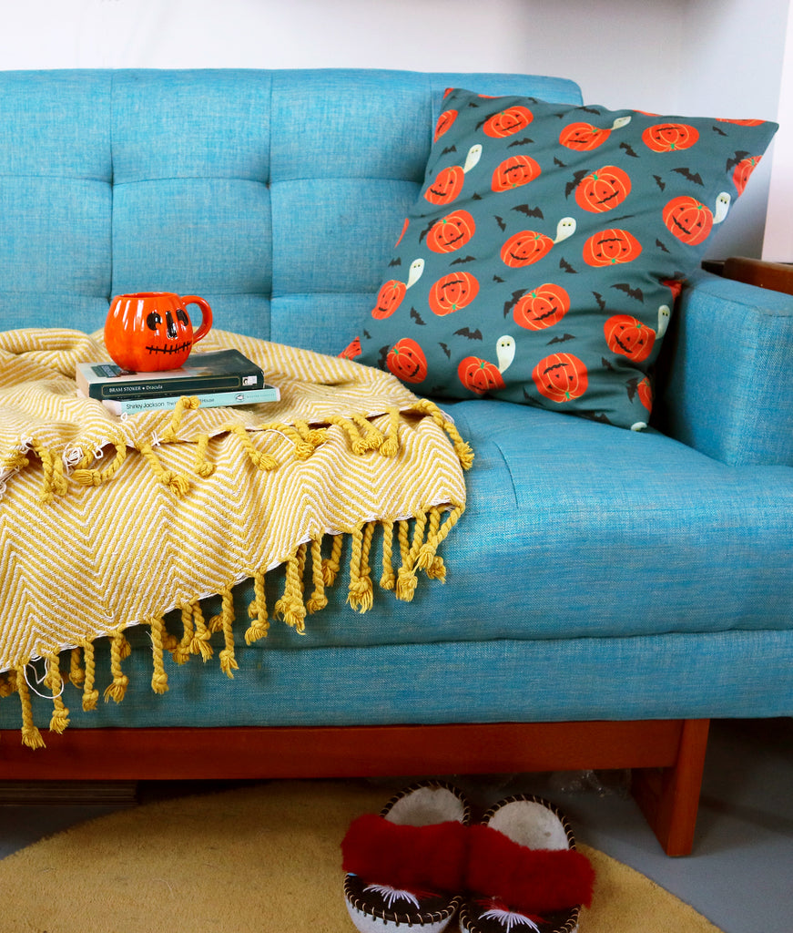 Quick and Easy Craft Projects Using My Pumpkin Fabric