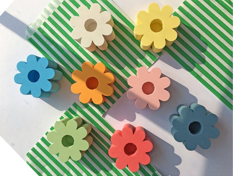 Flower-Candle-Holders