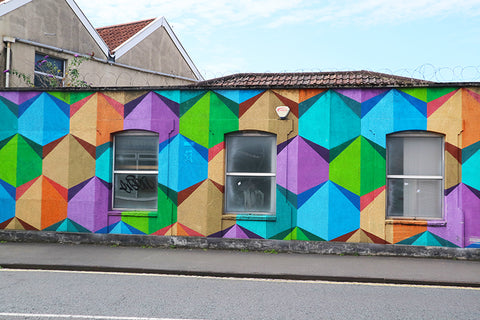 Colourful-Street-Art-Wall-North-Street-Bristol