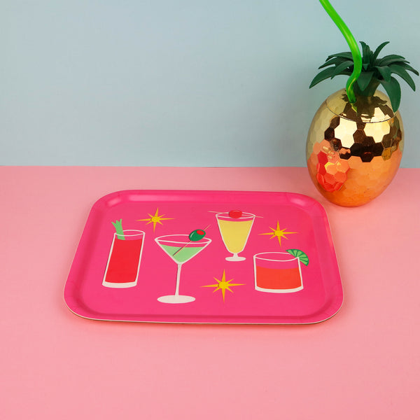 Atomic Cocktail Tray