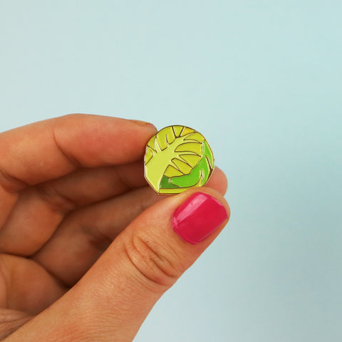 Christmas Sprout Enamel Pin Badge