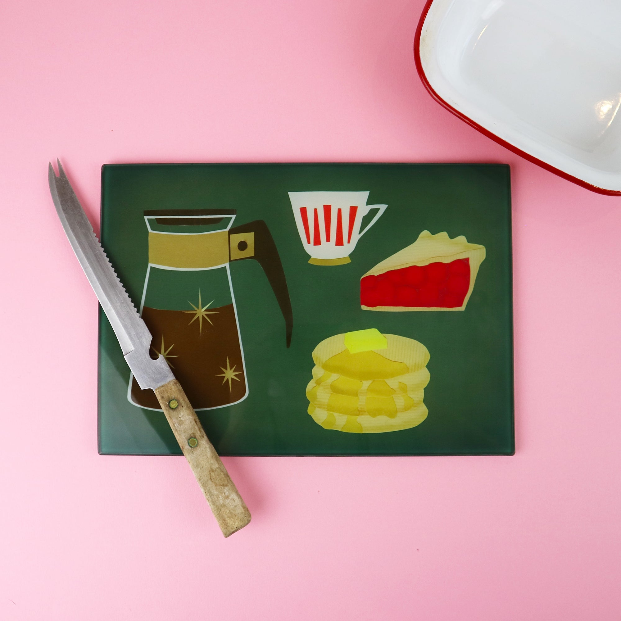 Diner Glass Chopping Board