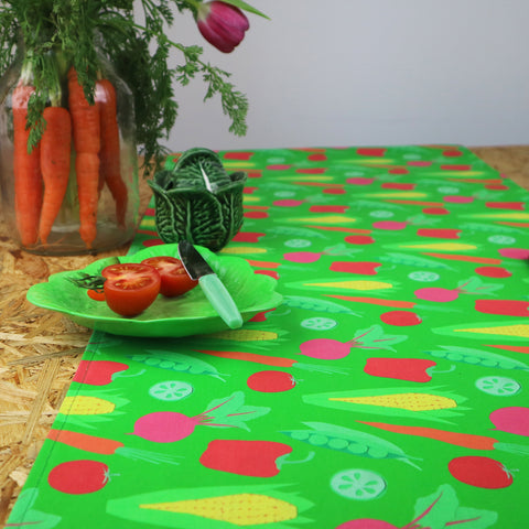 Vegetable Table Runner