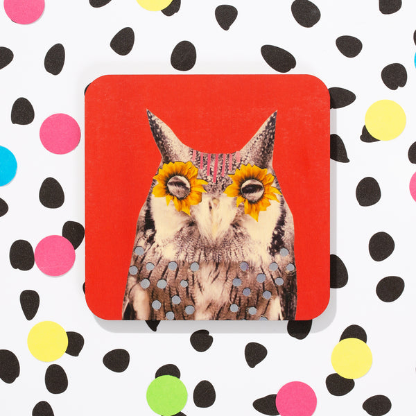 Feather Fiesta Coasters | Set of 4 or Single