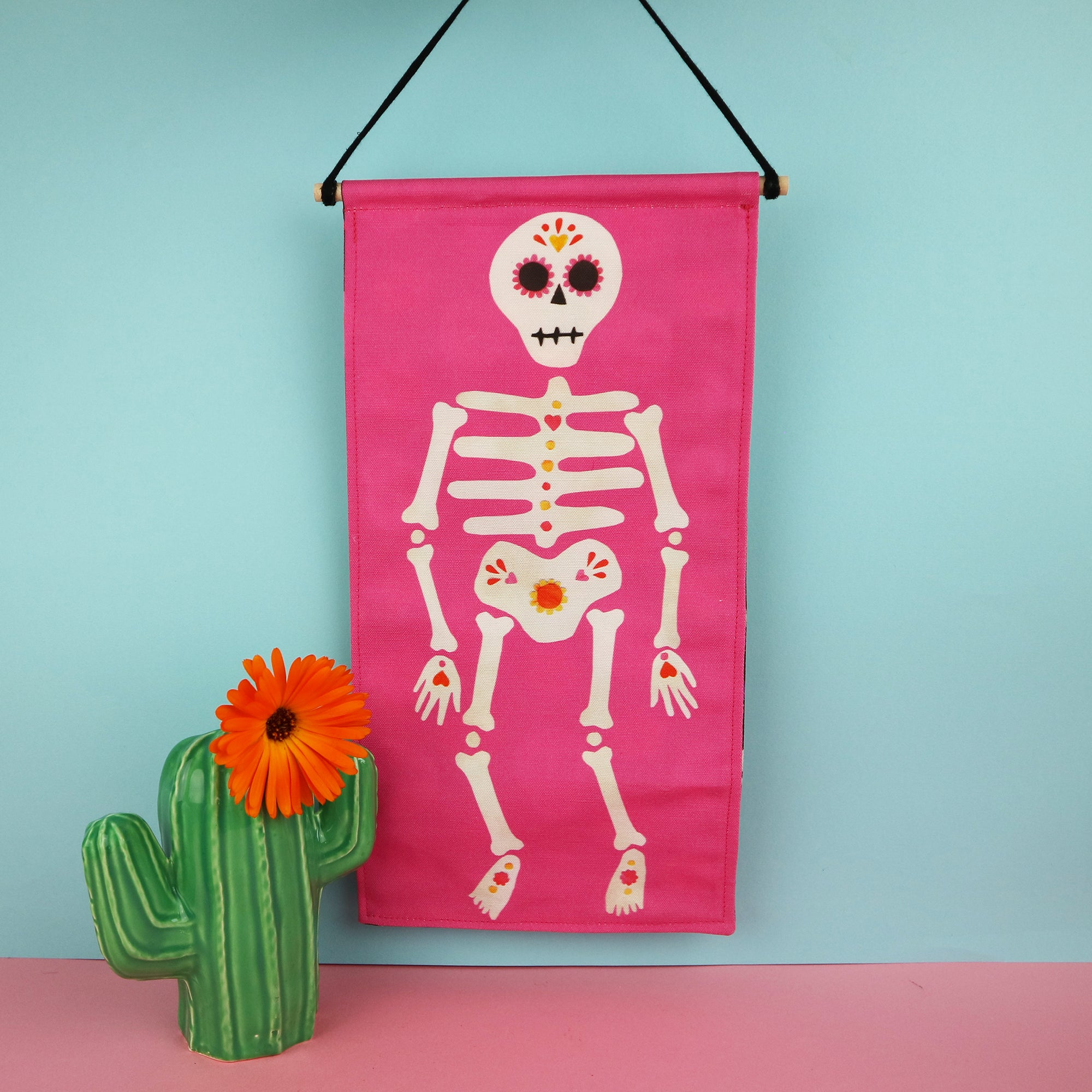 Skeleton Wall Hanging