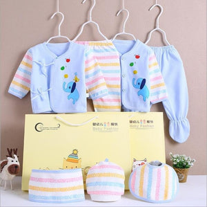 0-3 Months Infant Clothing Set Cotton Newborn Boys Clothes  Baby Underwear for Girls Print New Born Baby Girl Suits - shopbabyitems