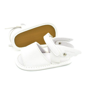 Infant Baby Summer Prewalker Anti-Skid Soft Sole Shoes Toddler Wings Sandals - shopbabyitems