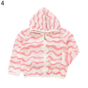 Cute Toddler Summer Sunscreen Jackets Kids Girl Boy Outerwear Fruit Hoodie Coat - shopbabyitems